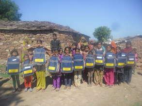 Nanhi Kali Kit Distribution
