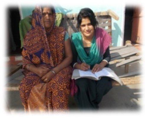 Priyanka and her Mother