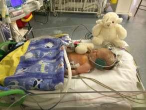 Boyce in hospital