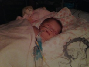 Yazmin as a baby
