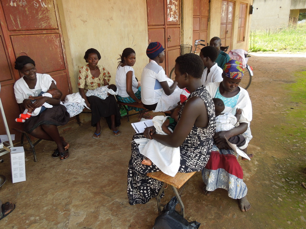 Vaccination day at Karin Children Medical Center