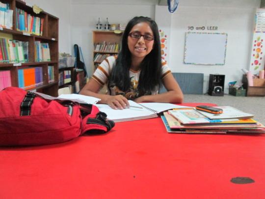 Isabela, former scholarship student turned teacher