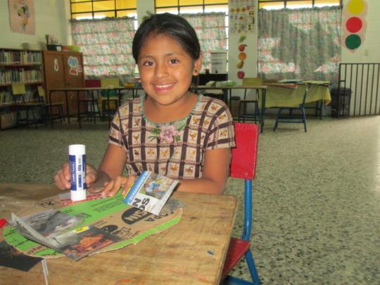 Maria Isabel, a 4th grade tutoring student