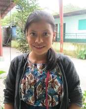Micaela Ratzan, a sponsored student in Panabaj