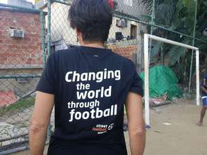 Changing the world through football