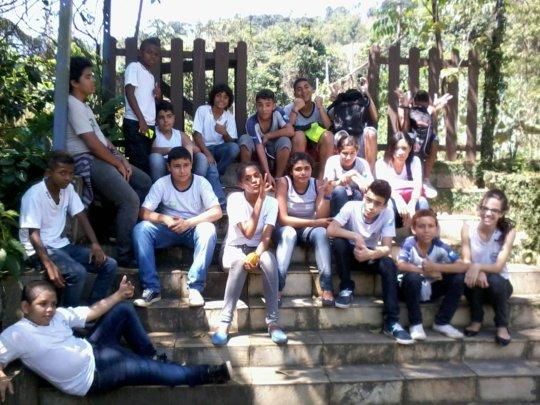 Students visiting SINAL