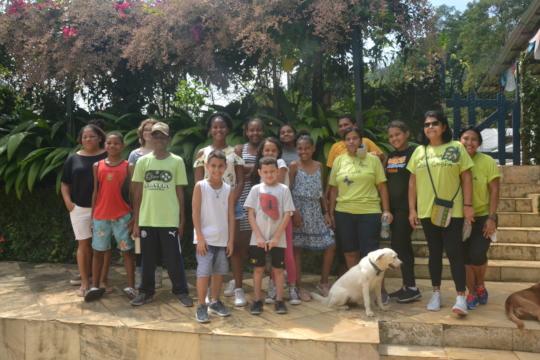 The Rocinha Creative English class