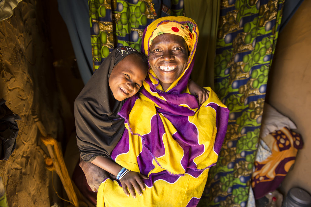 Hawa and her daughter thank you for your support