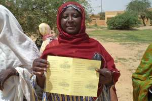 We provided many of our vouchers to women
