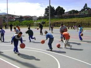 Children and the Basketball Club