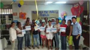 San Andres Sotavento graduation ICT Families