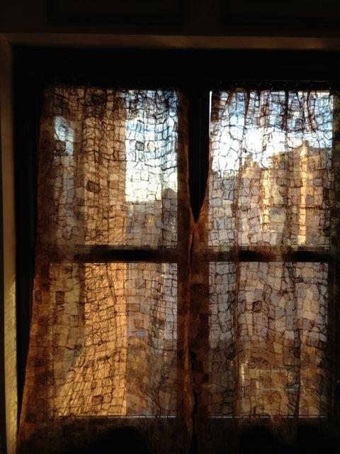 Ambodivoagny textile transform to NY apt curtains