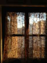 Ambodivoagny textile transform to NY apt curtains