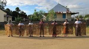 Ambodivoagny women make their first textile