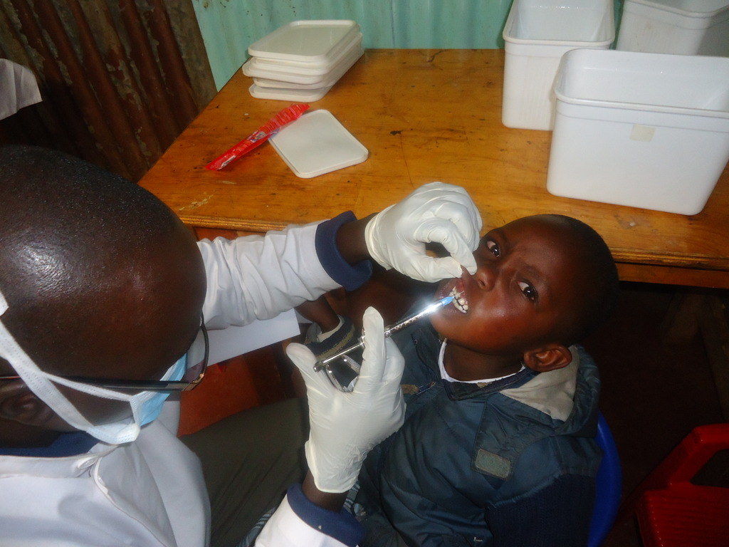 Beneficiary at Kenyatta Hospital dental service