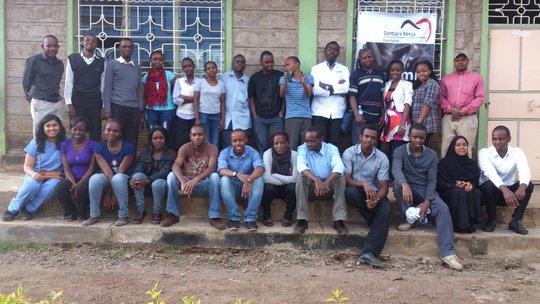 The Dentcare volunteer team