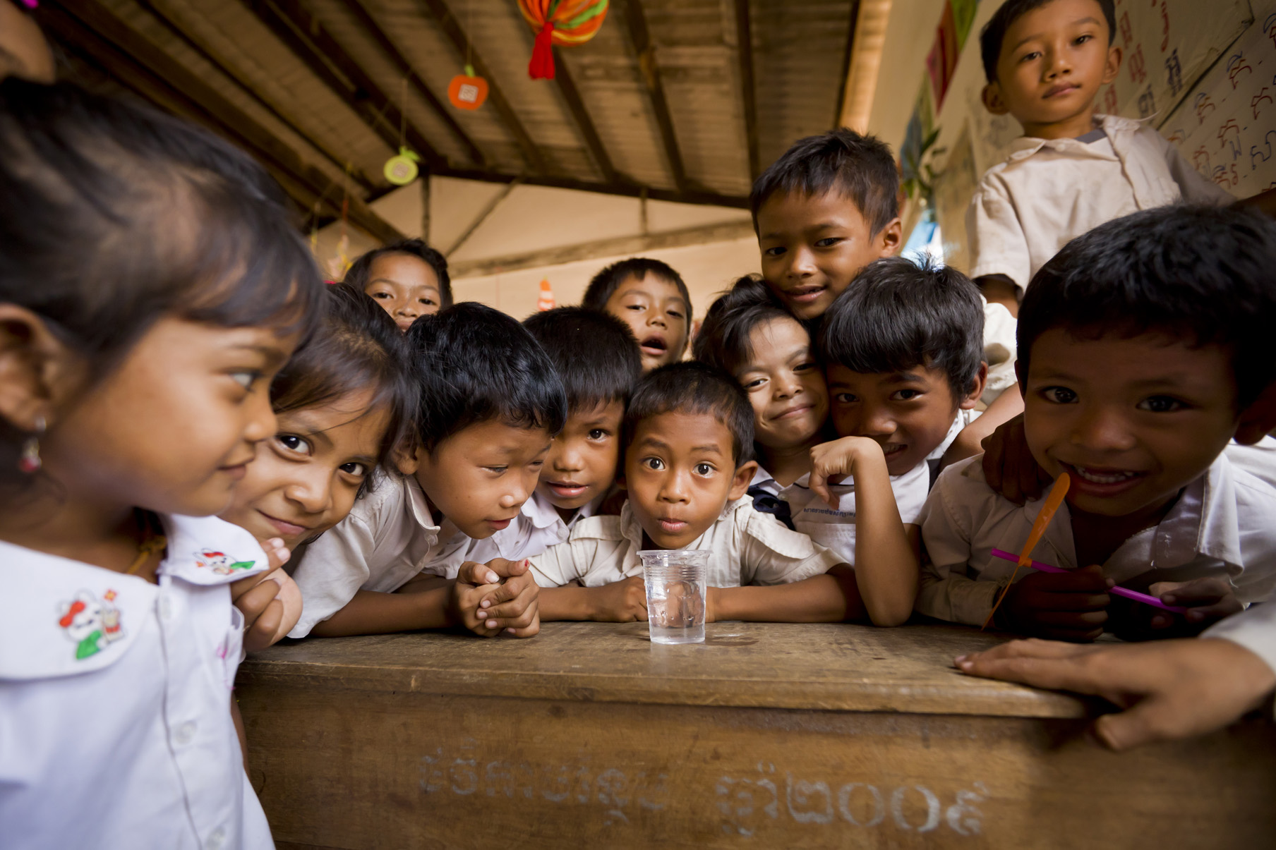 We believe that every child has a right to clean water, and that we would never serve a child a glass of water we would not serve our own children. Wouldn