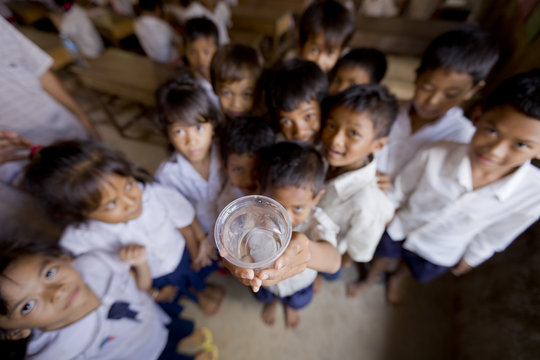 Cambodian Kids & Clean Water
