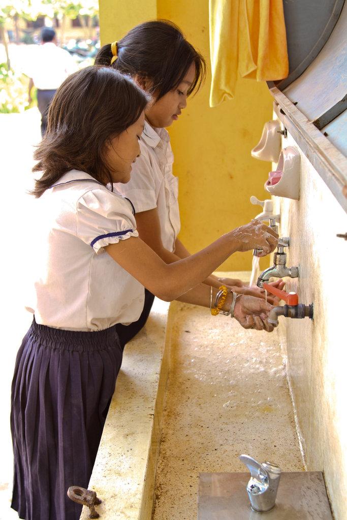 Porbanteaychey School, Siem Reap, Cambodia