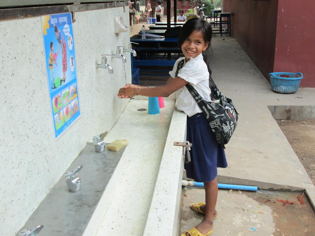 Kravan Primary School, Siem Reap, Cambodia