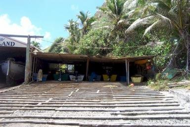 Boat-Shed Construction at Pitcairn Island