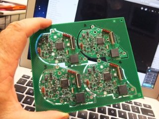 Safecast Medcom boards in progress