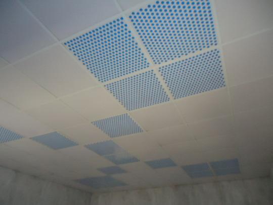 Classroom ceiling
