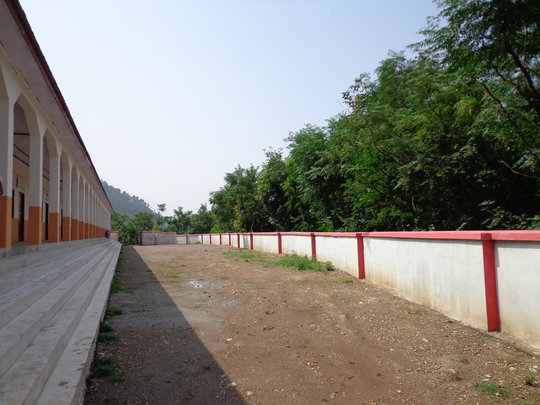 Jabri School Building nearing completion