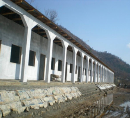The Jabri School nearing completion