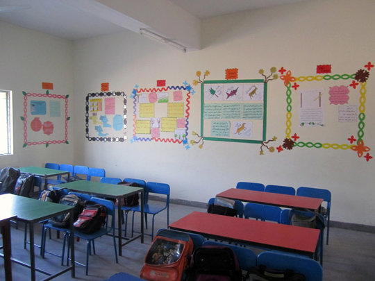 The inside of a DIL Classroom