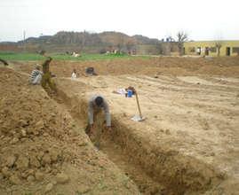 Demarcation work at Ranjali