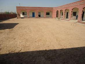 A typical single floor school building