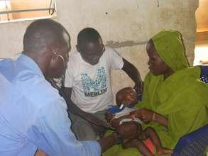 Consultations at Zafaya Health Centre, Chad