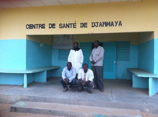 Merlin supported health facility in Djarmaya
