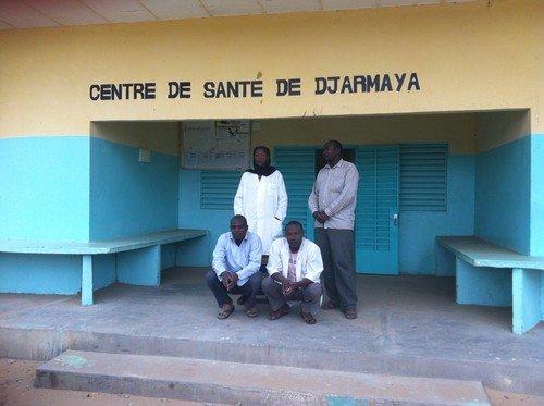 Merlin supported health facility Djarmaya, Chad