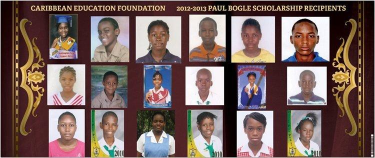 CEF 2012 Scholarship Recipients