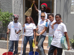 Some of our CEF Volunteers on Day of Service