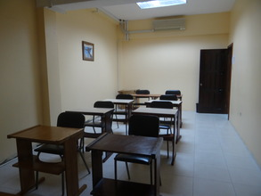 Inside a potential space to host Learning Center