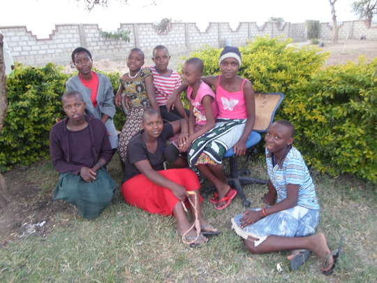 Girls at the centre unable to continue education