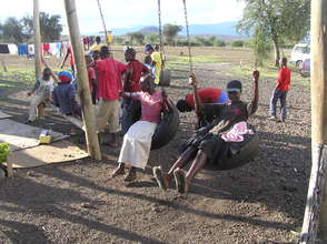 Play time for street children