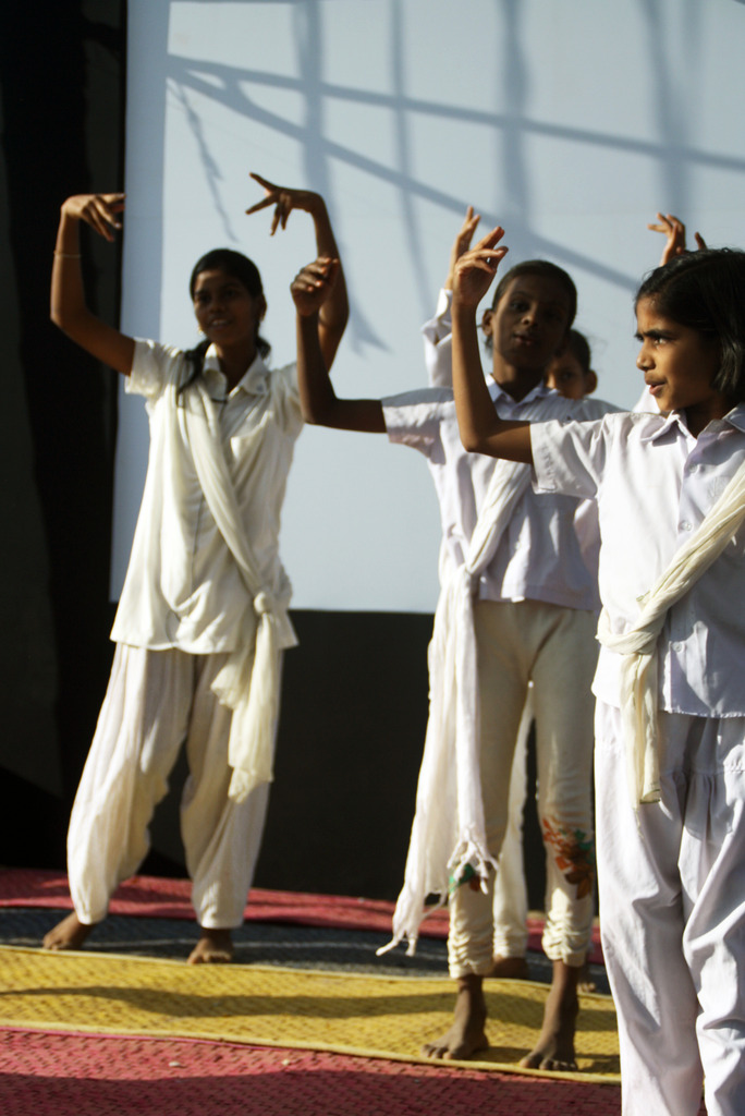 Dance performance during the play