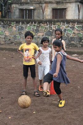 Kicking practice!