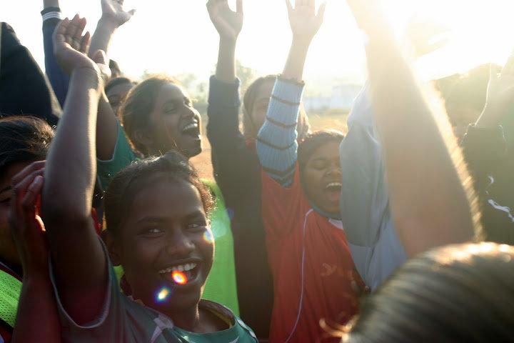 Empower Girls through football in a slum in India