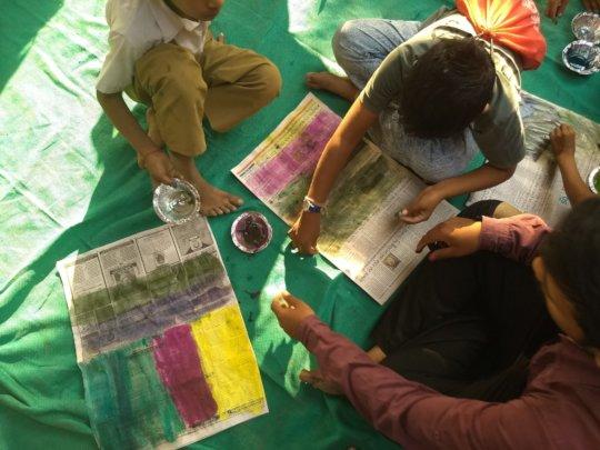 Holi Activities