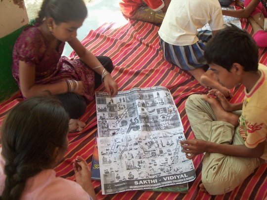 """Child Participation """"Snake & Ladders"""""""