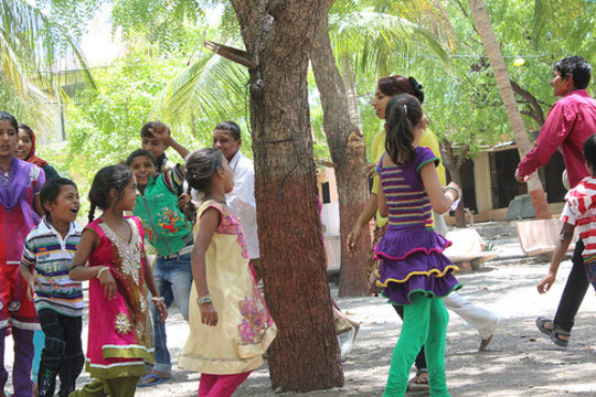 Fun and games on No Child Labour Day
