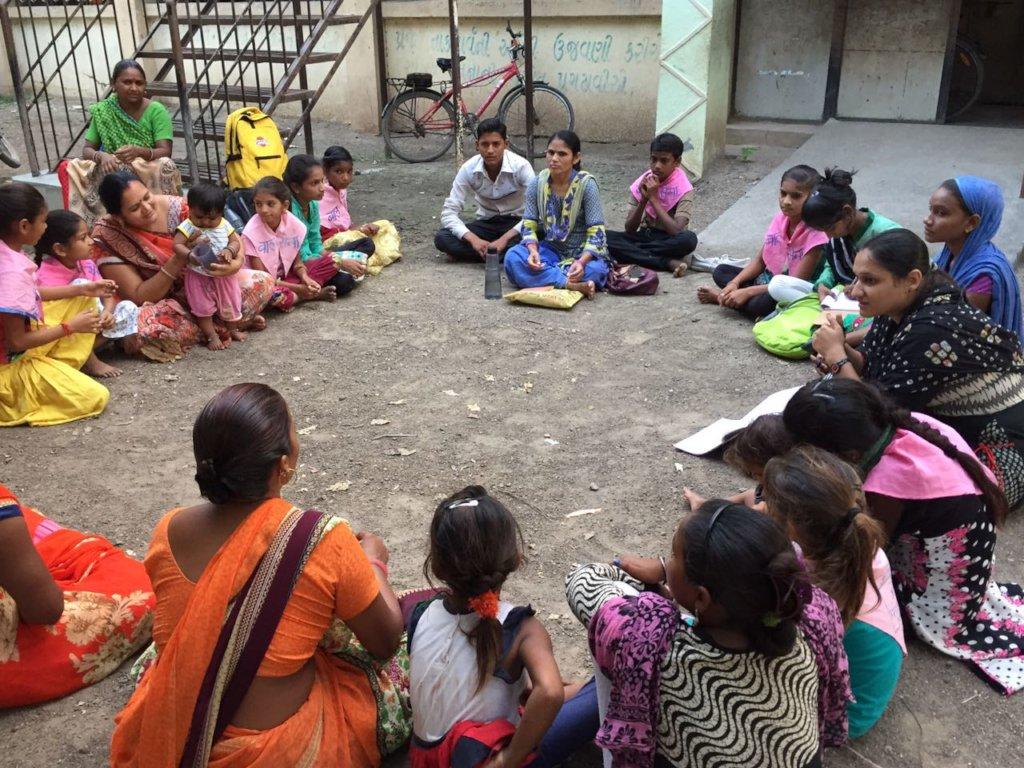 Parent Teacher Meeting for Lokshala Children