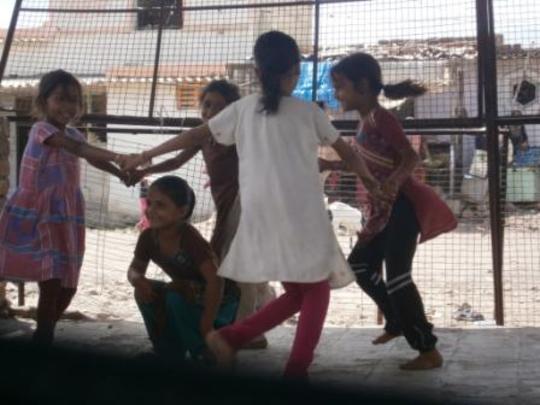 Balsena children playing