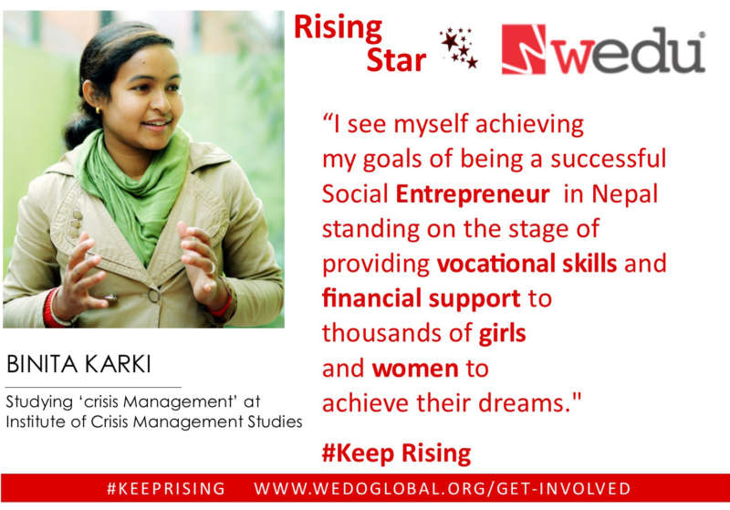 Image for Helping Rising Stars #KeepRising