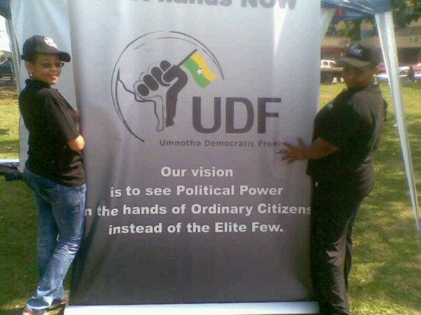 Image for Umnotho Democratic Front (UDF)